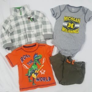 Baby Boys Bundle Size 12 Months